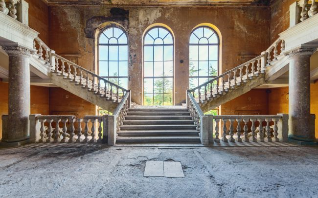 the bride stairs